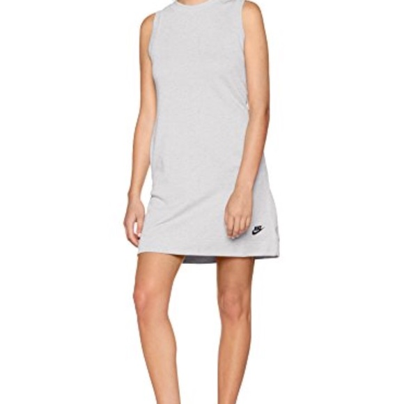 499cb5d8c9f0ca Nike sleeveless sweatshirt dress with pockets